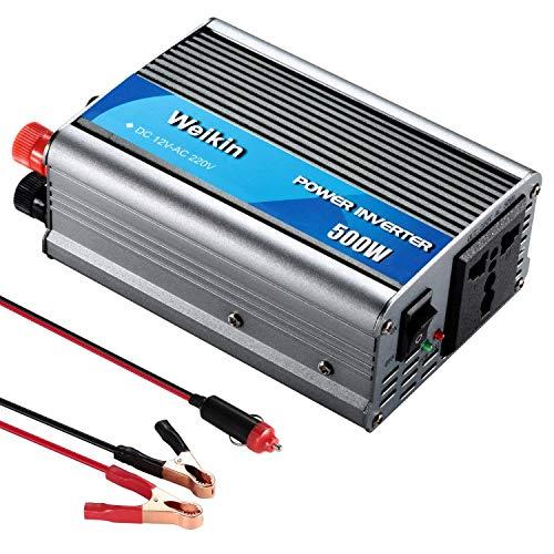 WEIKIN Power Inverter 500W inversor de energia DC 12V to AC 220V 230V convertidor de...