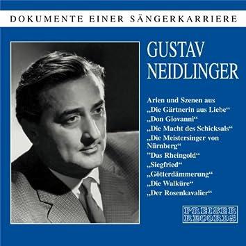 Dokumente einer Sängerkarriere - Gustav Neidlinger