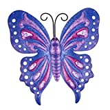 UPKOCH Mariposas decorativas de hierro para jardín, figuras de animales, figura de...