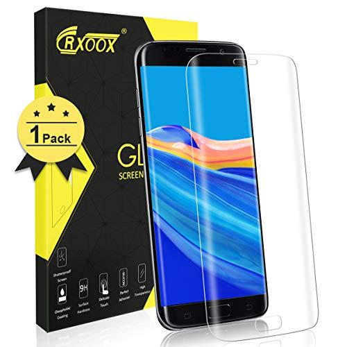 CRXOOX Protector de Pantalla para Samsung Galaxy S7 Edge, Alta Definicion...