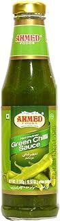 Ahmed Foods Green Chilli Sauce, Hari Chutney, 300 gm