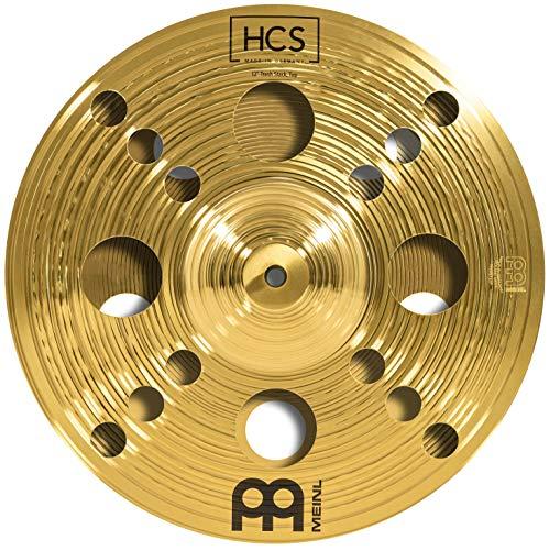 Meinl Cymbals HCS 12 Zoll (30,48cm) Trash Stack Becken für Schlagzeug – Messing, traditionelles Finish (HCS12TRS)