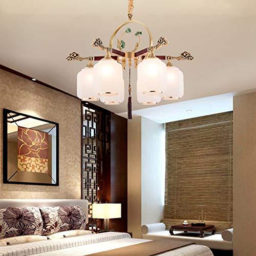 RUIRUI Kupfer Schlafzimmer Wohnzimmer Kronleuchter Villa Maisonette Gebäude Halle Esszimmer Kronleuchter