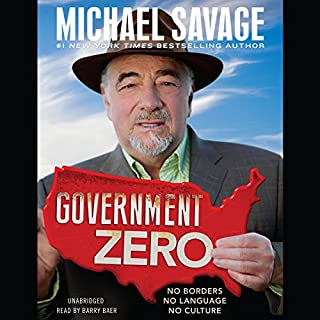 Government Zero audiobook cover art