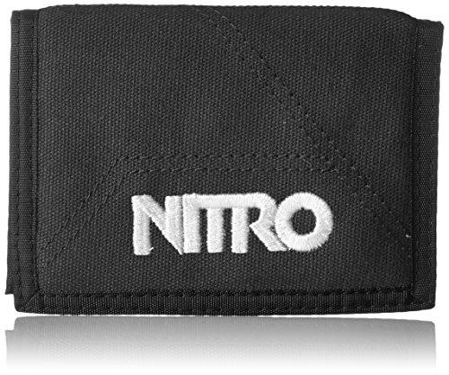 Nitro Wallet, Geldbörse, Geldbeutel, Portemonnaie, Münzbörse, Black, 10 x 14 x 1 cm, 1131-878000_12, 60g
