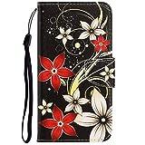 Dclbo Hülle für Nokia 2.2 2019, Handyhülle PU Leder Schutzhülle Flip Wallet Hülle Lederhülle Brieftasche Tasche mit Kartenfächer Magnet Cover Klapphülle für Nokia 2.2 2019-9 Muster