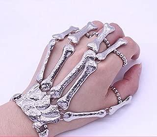 steampunk hand bracelet