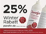 Porofin® Horizontalsperre Karton (Inhalt 12 Flaschen) gegen feuchte Wände zum dauerhaften Keller abdichten.