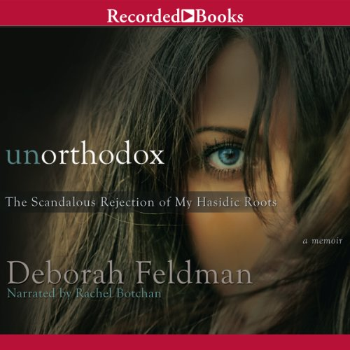 Unorthodox audiobook cover art