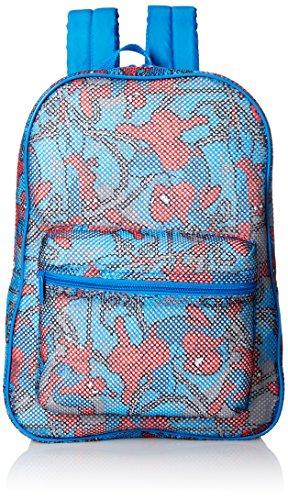 Marvel Boys' Spiderman Mesh Backpack