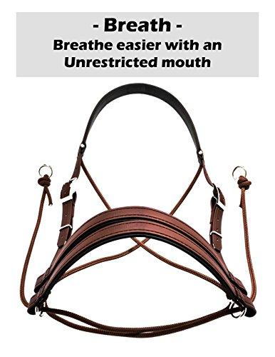 Ultimate Bitless Bridle (Braun, Miniatur - 3