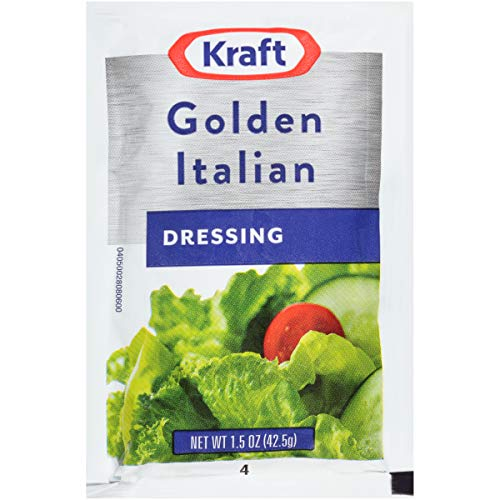 Kraft Golden Italian Dressing (1.5 oz Packets, Pack of 60)