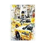 New York Times Square Ölgemälde Leinwand Poster Wandkunst