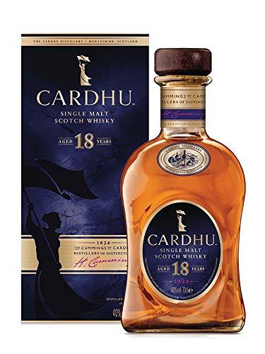 Cardhu 18 Years Old Single Malt Scotch Whisky 40% Volume 0,7l in Geschenkbox