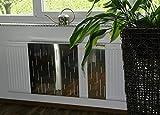 Heizkörperverkleidung 60 x 20 cm Design: Rain, Edelstahl glänzend (SET=3 Stück) Marke: Szagato (Heizkörper-abdeckung für Heizkörper/Heizungs-verkleidung Heizkörper-verkleidung Heizungs-abdeckung)