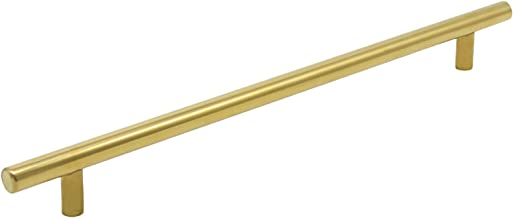 5 X Gold roestvrij staal keukenkast T Bar Handle Furniture lade trekt Cuoboard Knoppen PD1123HGD128 (128mm Hole centra / 1...