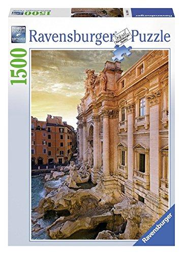 Ravensburger 16303 Fontana di Trevi, Roma, Puzzle 1500 Pezzi