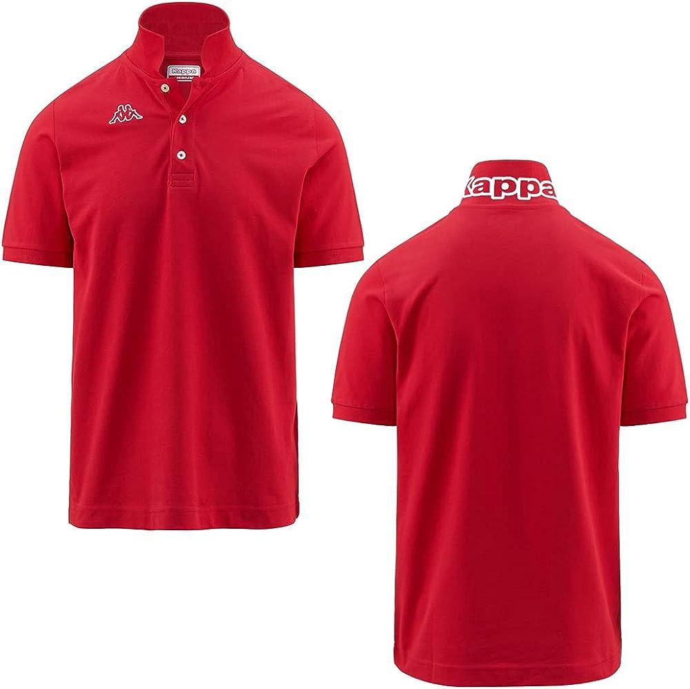 Kappa man logo life polo maglietta a maniche corte da uomo 100% cotone GS_302S1U0_005_Black_XS