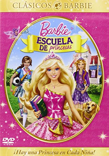 Barbie escuela de princesas [DVD]