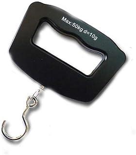 (ライチ) Lychee 電子はかり 旅行はかり 携帯式デジタル 吊りはかり デジタル LED表示 単位切替 最大50kg 風袋引き 小型軽量 便利 荷物 計量器 スーツケース用 吊り下げ式 フック式