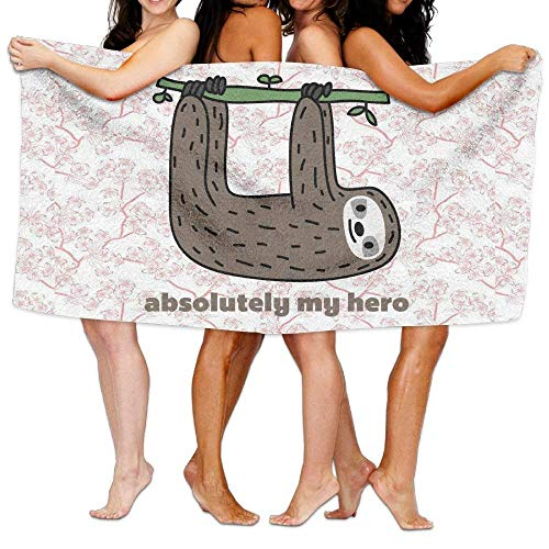 LINGVYTE Absolutely My Hero Beach Towels Washcloths Bath Towels for Teen Girls Adults Travel Towel Pool and Gym Use 31x51 Inches