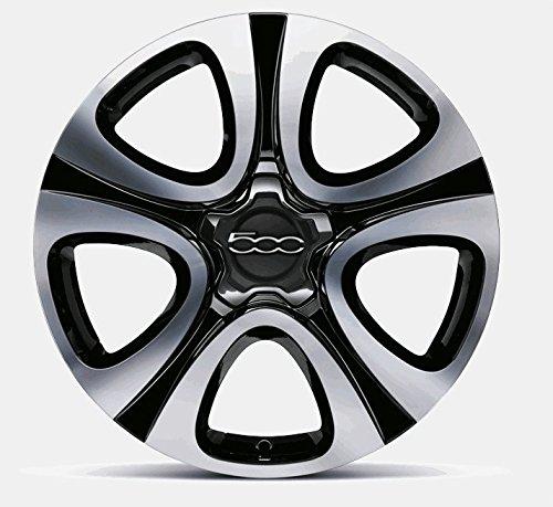 Llantas de aleación para Fiat 500X de 18 pulgadas, Black Diamond