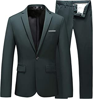 mens slim fit prom suits