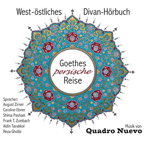Goethes persische Reise     West-östliches Divan-Hörbuch              De :                                                                                                                                 Johann Wolfgang von Goethe,                                                                                        Hafis,                                                                                        Rudaki,                   and others                          Lu par :                                                                                                                                 August Zirner,                                                                                        Caroline Ebner,                                                                                        Frank T. Zumbach,                   and others                 Durée : 1 h et 2 min     Pas de notations     Global 0,0