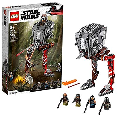 LEGO Star Wars AT-ST Raider 75254 The Mandalorian Collectible All Terrain Scout Transport Walker Posable Building Model (540 Pieces) from LEGO