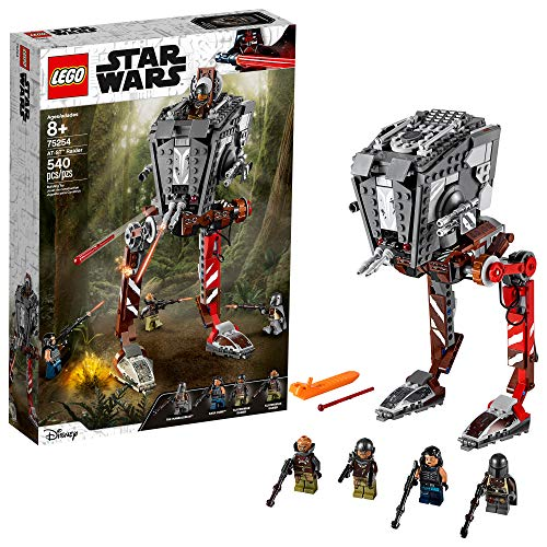 LEGO Star Wars at-ST Raider 75254 The Mandalorian Collectible All Terrain Scout Transport Walker Posable Building Model (540 Pieces) (Accessory)
