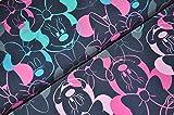 Swafing GmbH Disney Jersey Minnie Mouse dunkelblau pink -