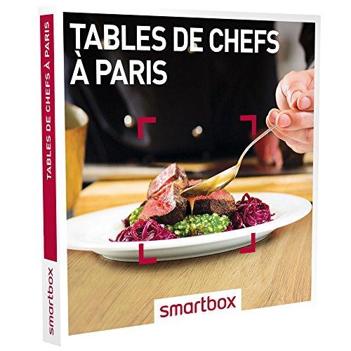 Coffret Smartbox Tables de chefs à Paris