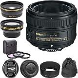 AF-S NIKKOR f/1.8G Lens - 50 mm Classic Bundle