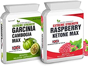 30 Raspberry K-Max – No Fillers 1500mg Daily Dose 30 Garcinia Cambogia – No Fillers 1500mg Daily Dose Estimated Price : £ 10,95