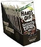 Hands off my Chocolate Seriously Dark 85% Cocoa (12 x 100g) | Fairtrade | Laktosefrei | 1200g belgische Schokolade | Dunkle Schokolade