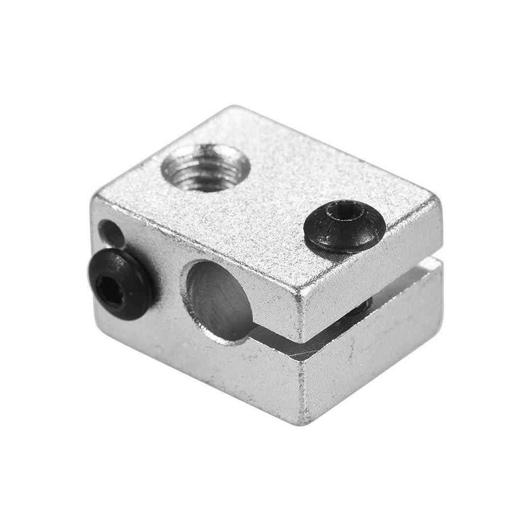リンケージ嵐の出身地M6ボット3DプリンターのためのV6押出機のHotendの熱い端の暖房の付属品20 * 16 * 12mmのためのアルミニウム熱ブロック