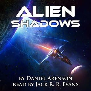 Alien Shadows audiobook cover art