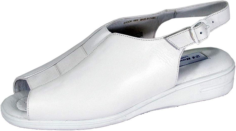 24 Hour Comfort Sheila Women Wide Width Comfort Open-Toe Sandals