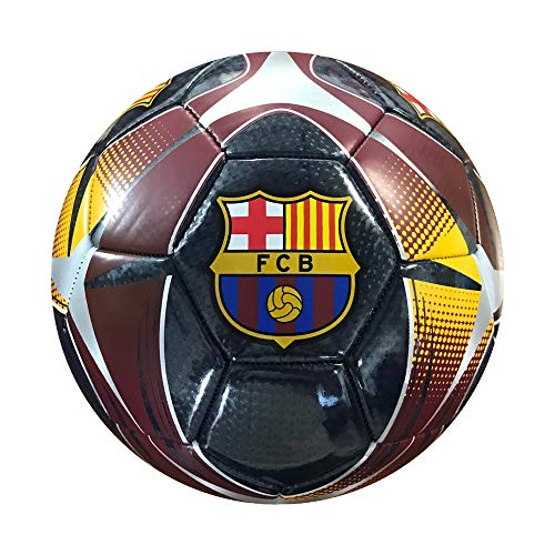 Icon Sports Fan Shop Pinch Team Soccer Ball UEFA Champions League Soccer Barcelona, Team Color, Size 5
