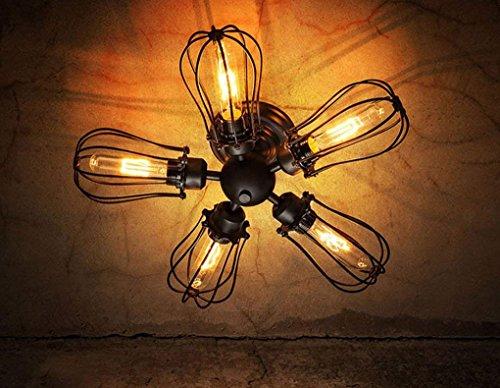 CAIMEI Candelabro Salón Dormitorios Balcón Restaurante Luces Luces 5 Cabeza de Pomelo Luz de Pared Doble Lámpara de Techo Portalámparas E27