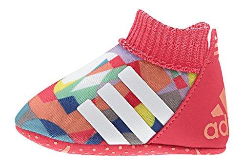 adidas Unisex Baby Relino II Crib Krabbel- & Hausschuhe, Rot/Weiß/Blau (Rojimp Ftwbla Senade), 17 EU
