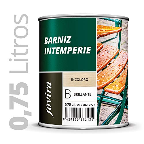 BARNIZ INTEMPERIE TRANSPARENTE. Decora embellece