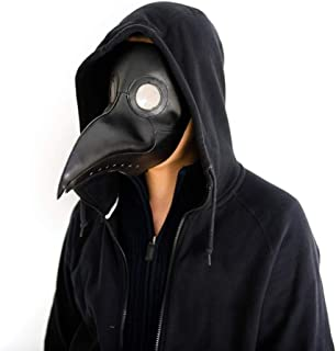 Medieval Monk Renaissance Priest Robe Costume Unisex Plague Doctor Cosplay Adult Halloween Hooded DIY Fancy Dress Outift