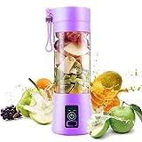 Blender, Smoothie Blender, Smoothie Maker, Mini Juice Blender, Milkshake and Smoothie (purple)
