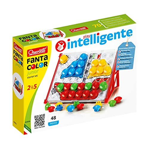 Quercetti 4195 Fanta Color Junior Basic 4195-Fanta, kleurrijk, 29 x 16,5 x 22,5 cm