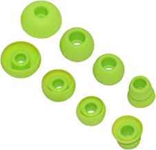 Replacement Silicone Ear Tips Earbuds Buds Set Compatible Powerbeats 2 Powerbeats 3 Wireless Earphones (Green)