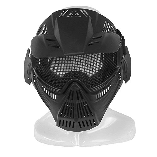 Lejie Máscara Malla Acero táctica Máscara protección
