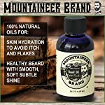 Beard Oil by Mountaineer Brand (4 fl oz total) | Premium 100% Natural Beard Conditioner (WV Timber | Two-Ounce 2 Pack) 3