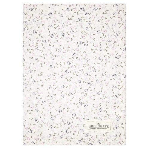 GreenGate - Geschirrtuch, Küchentuch, Trockentuch - Ginny - Baumwolle - White - 50 x 70 cm