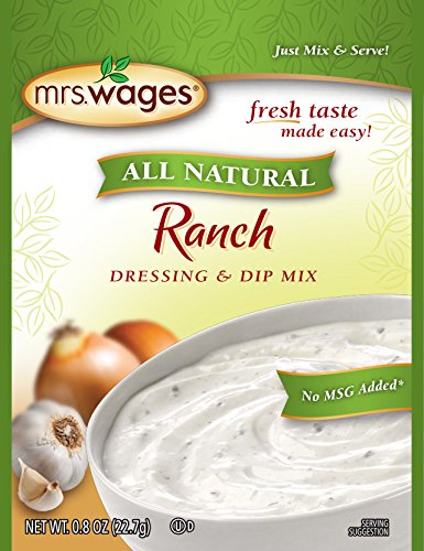 Mrs. Wages Ranch Dressing and Dip Mix (VALUE PACK of 12)